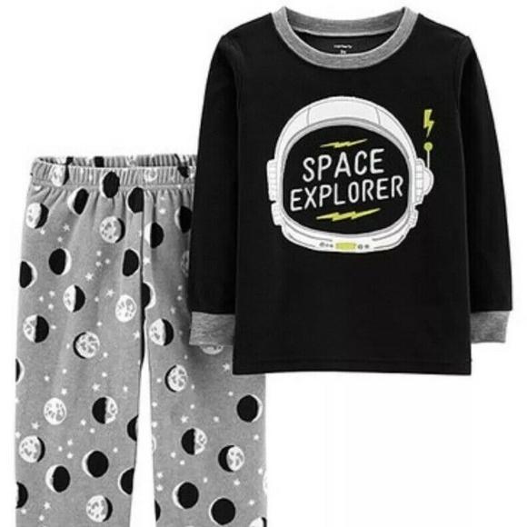 Carter's Other - Carter's Boys' Sleepwear Space Explorer Fleece Set